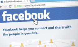 Das soziale Netzwerk Facebook.