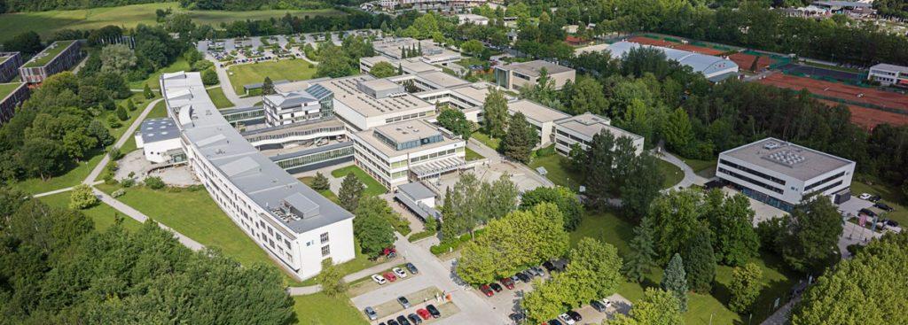 Der Campus der Alpen-Adria-Universität in Klagenfurt am Wörthersee (Quelle: aau.at).