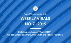 Titelbild Weekly Virals 7 | 2019