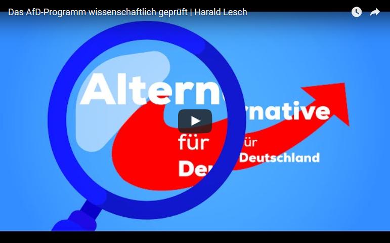 Harald Lesch: Shitstorm nach AfD-Beitrag und Reaktion – die Zahlen