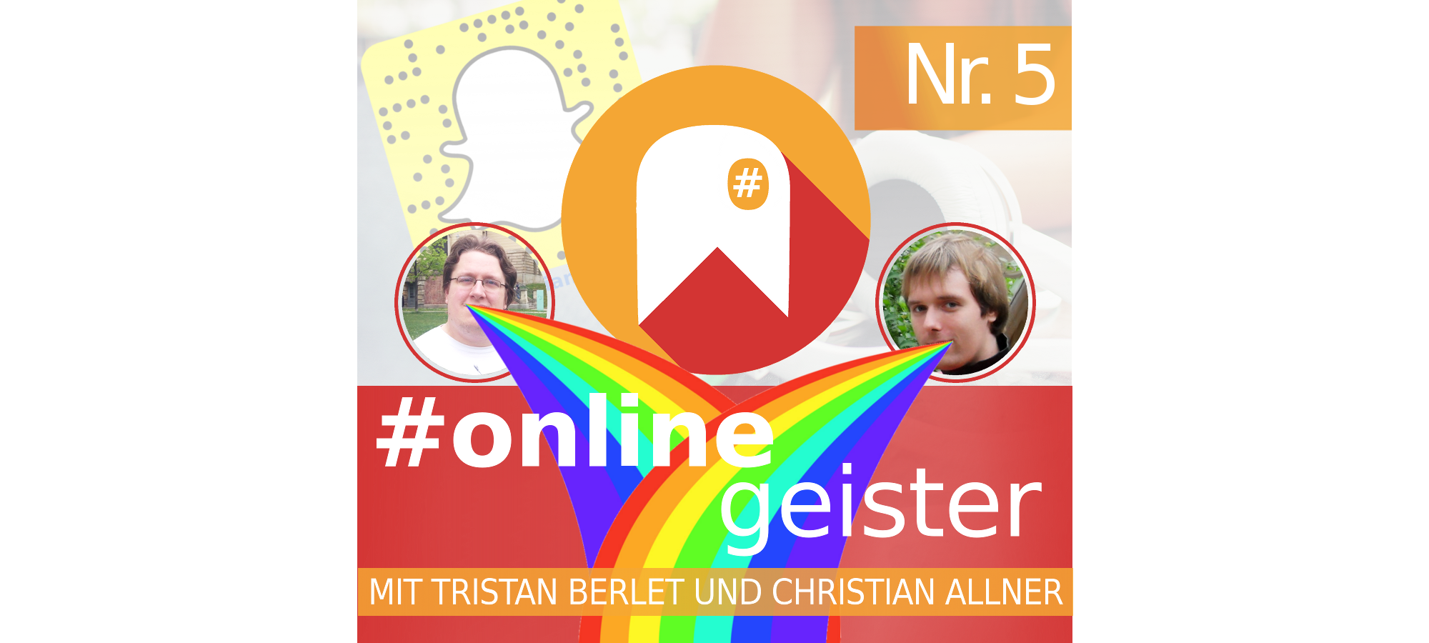 Podcasthinweis: Snapchat — #Onlinegeister-Podcast Nr. 5