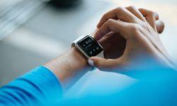 Eine handelsübliche Smartwatch.