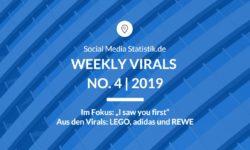 Titelbild Weekly Virals 4 | 2019