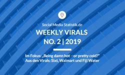 Titelbild Weekly Virals 2 | 2019