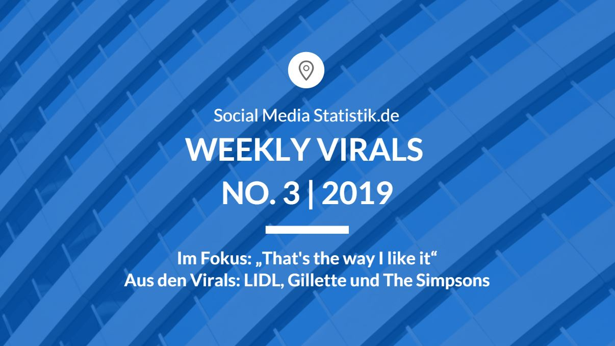 Weekly Virals No. 3 | 2019