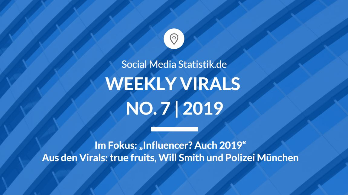 Weekly Virals No. 7 | 2019