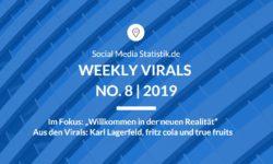Titelbild Weekly Virals 8 | 2019