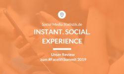 Titelbild Instant. Social. Experience