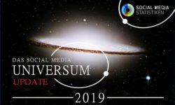 Infografik SocialMediaUniversum_2019_update