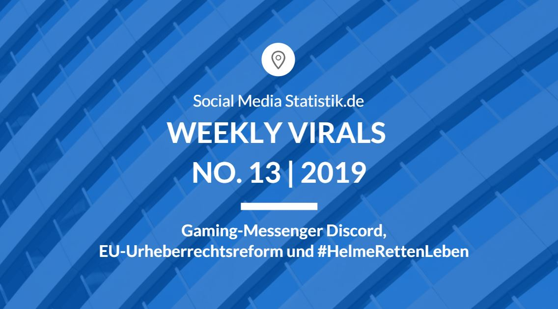 Weekly Virals No. 13 | 2019
