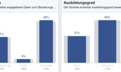 Einige Daten aus Facebook Analytics am Beispiel von greenkarmatravel.org (Bildquelle: Petra Klanfar via Facebook Analytics).
