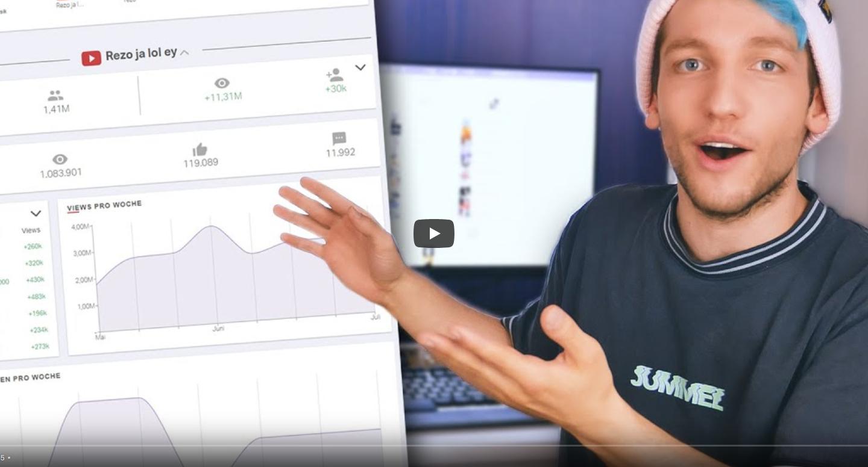 YouTube: Rezo veröffentlicht eigenes Statistik-Tool